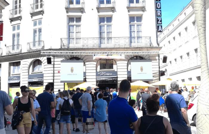 Location écran géant FC Nantes