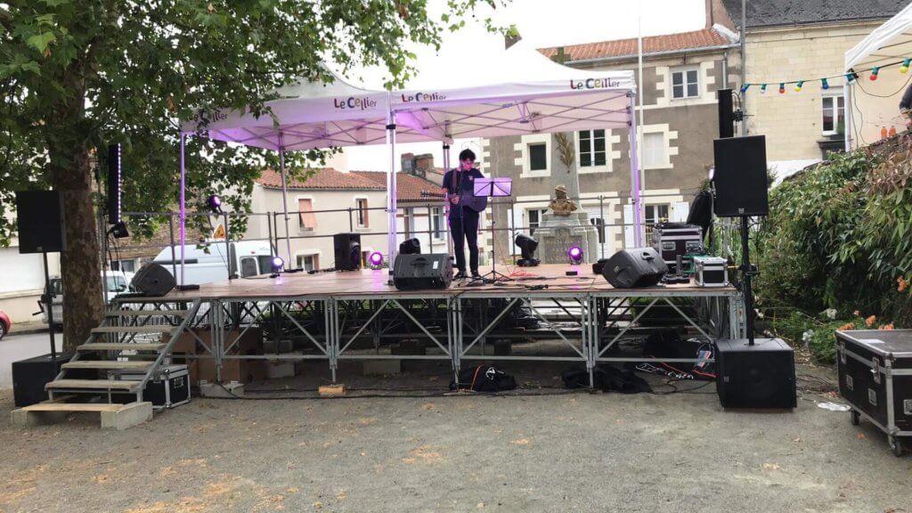 Sonorisation fête de la musique Loroux Bottereau