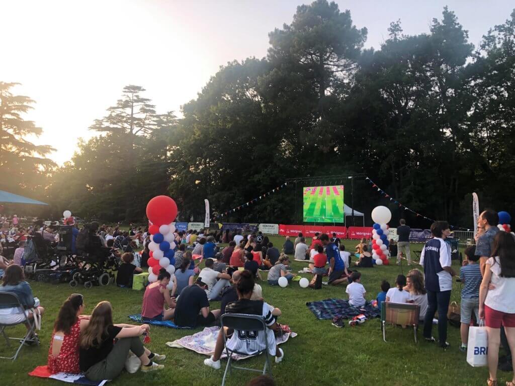 location écran géant coupe du monde féminine Mérignac