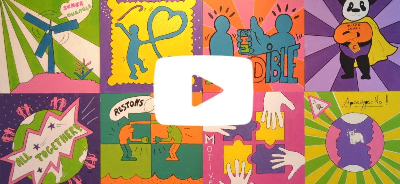 Atelier Pop Art video