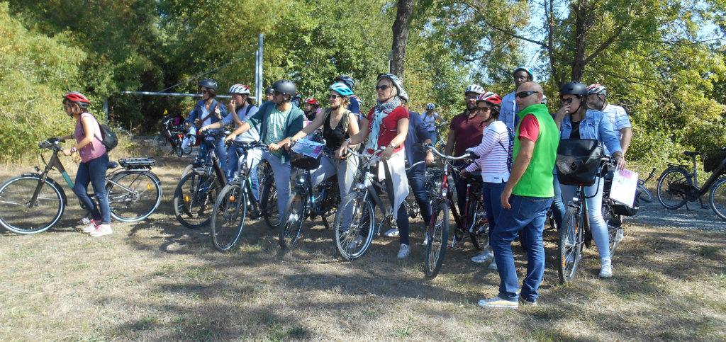 Séminaire à Bordeaux - Rallye Vélo