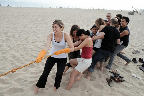 Beach Party Games